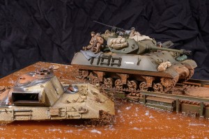 diorama-Achilles-Panther-Churchill ARK-1-35-Italie (79)