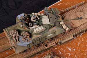 diorama-Achilles-Panther-Churchill ARK-1-35-Italie (86)